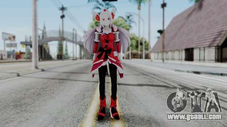 Fresh Precure Cure Passion for GTA San Andreas second screenshot