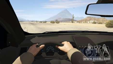 GTA 5 Ford Taurus back view