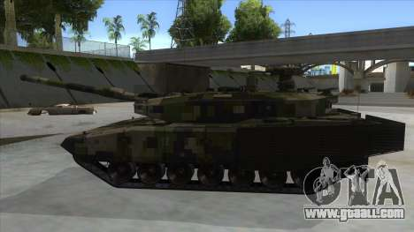 MBT52 Kuma for GTA San Andreas left view