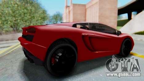 GTA 5 Pegassi Vacca SA Style for GTA San Andreas right view
