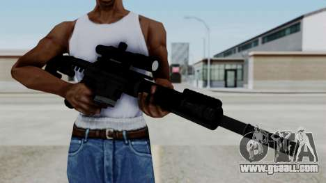 McMillan CS5 No Bipod for GTA San Andreas third screenshot