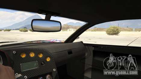 GTA 5 Stickerbomb Jester rear right side view