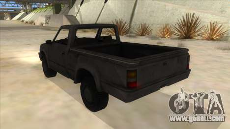 Toyota Hilux Militia for GTA San Andreas back left view