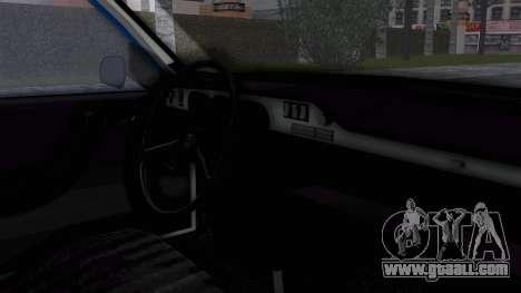 Dacia 1300 Police for GTA San Andreas right view