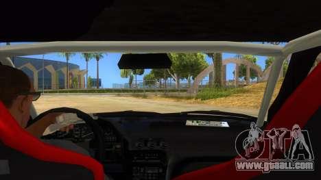 Nissan 240SX Stance Nico Yazawa Itasha Livery for GTA San Andreas inner view