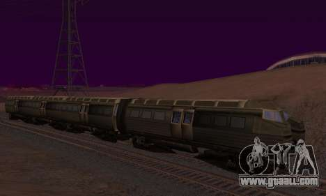 Batman Begins Monorail Train v1 for GTA San Andreas interior
