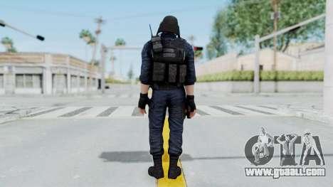 GIGN 2 No Mask from CSO2 for GTA San Andreas third screenshot