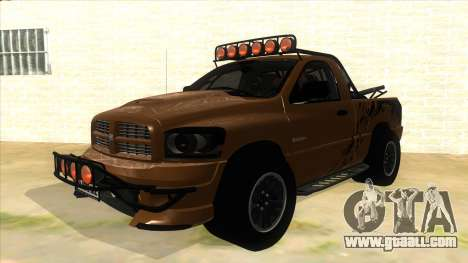 Dodge Ram SRT DES 2012 for GTA San Andreas