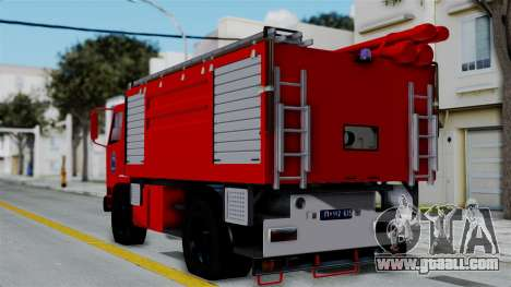 FAP Serbian Fire Truck for GTA San Andreas left view