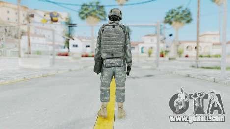 Acu Soldier 1 for GTA San Andreas third screenshot
