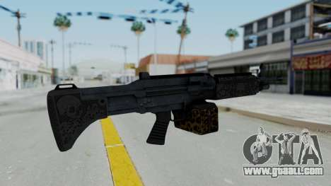 GTA 5 Online Lowriders DLC Combat MG for GTA San Andreas second screenshot