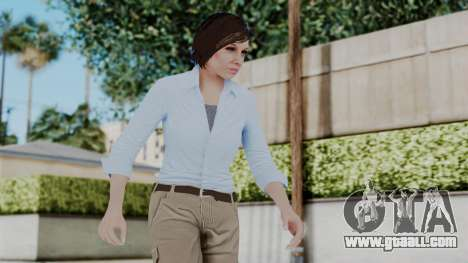 GTA 5 Karen Daniels Civil for GTA San Andreas