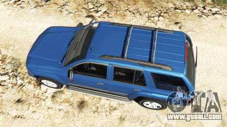 GTA 5 Chevrolet TrailBlazer back view