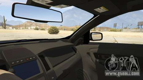 GTA 5 Ford Taurus rear right side view