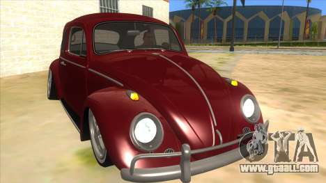 Volkswagen Beetle Aircooled V2 for GTA San Andreas back view
