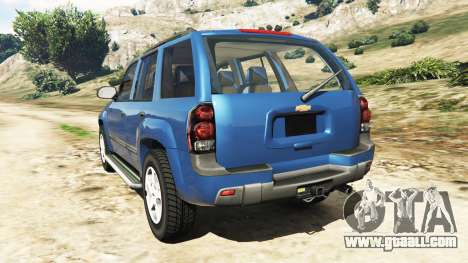 GTA 5 Chevrolet TrailBlazer rear left side view