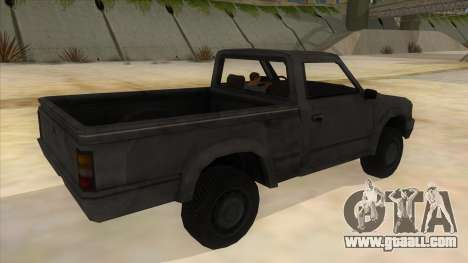 Toyota Hilux Militia for GTA San Andreas right view
