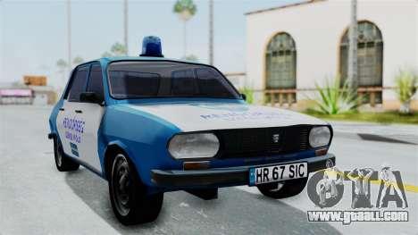 Dacia 1300 Police for GTA San Andreas