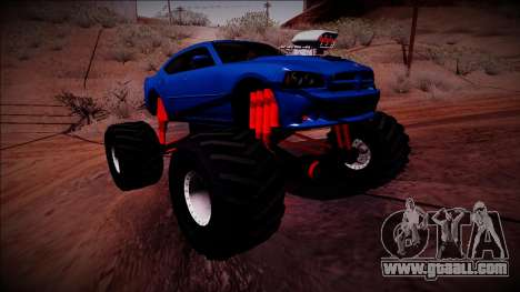2006 Dodge Charger SRT8 Monster Truck for GTA San Andreas right view
