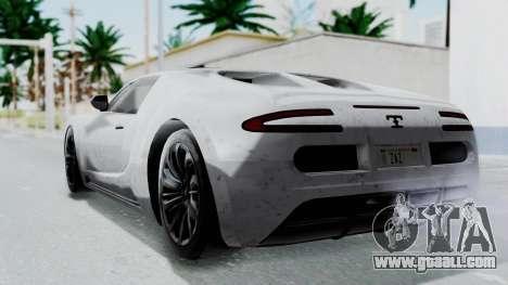 GTA 5 Truffade Adder v2 IVF for GTA San Andreas left view