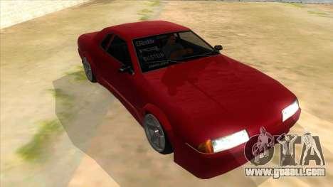 GTR Elegy for GTA San Andreas back view