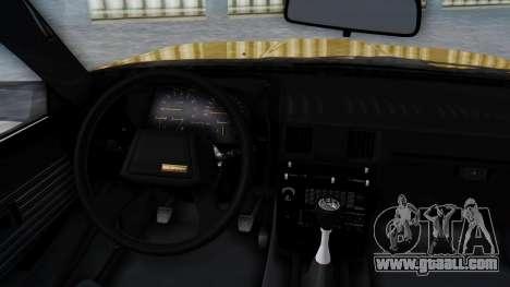 Toyota Celica Supra Mk2 for GTA San Andreas right view