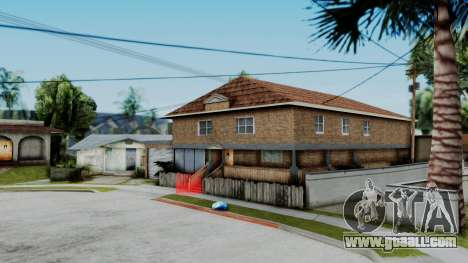 New texture at home Se v2 (with interior) for GTA San Andreas