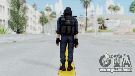GIGN 2 Masked from CSO2 for GTA San Andreas third screenshot