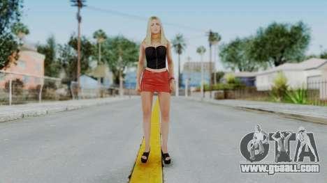 GTA 5 Hooker 01 v1 for GTA San Andreas second screenshot