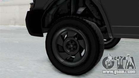 Vapid Speedo Newsvan for GTA San Andreas right view