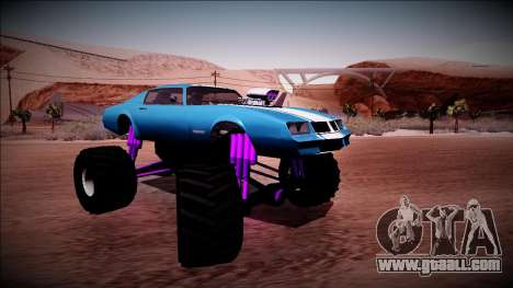 GTA 5 Imponte Phoenix Monster Truck for GTA San Andreas right view