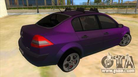 Renault MEGANE 2 for GTA San Andreas right view
