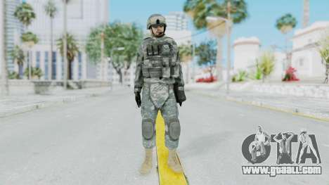Acu Soldier 1 for GTA San Andreas second screenshot
