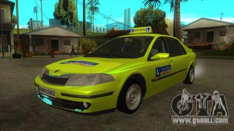 Renault Laguna Mk2 Top Speed Auto Škola for GTA San Andreas