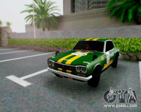 Nissan 2000GT-R [C10] Tunable for GTA San Andreas side view