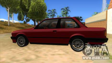 BMW M3 E30 1991 for GTA San Andreas left view