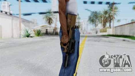 P90 Sand Frame for GTA San Andreas third screenshot