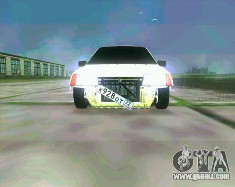 VAZ 2109 BUNKER for GTA San Andreas left view
