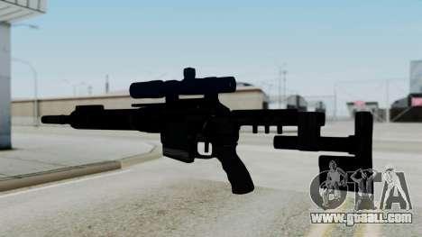 McMillan CS5 No Bipod for GTA San Andreas second screenshot