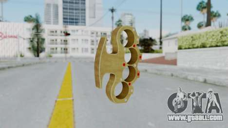 The Pimp Knuckle Dusters from Ill GG Part 2 for GTA San Andreas second screenshot