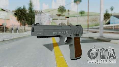 GTA 5 Pistol .50 for GTA San Andreas second screenshot