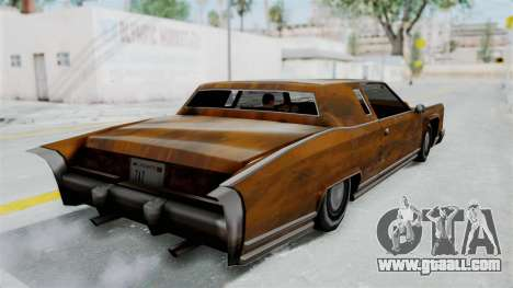 Vinyl Rust for Remington for GTA San Andreas left view