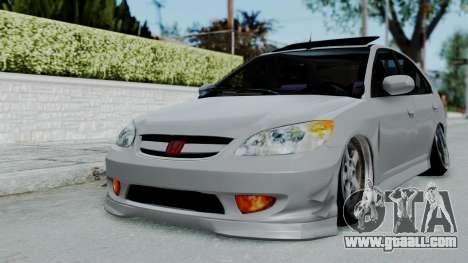 Honda Civic 2002 Model Vtec1 for GTA San Andreas