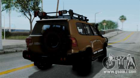 Toyota Land Cruiser 2013 Off-Road for GTA San Andreas left view