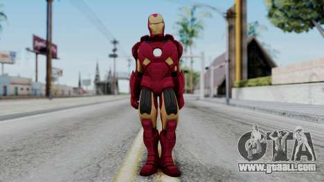 Ironman Skin for GTA San Andreas second screenshot