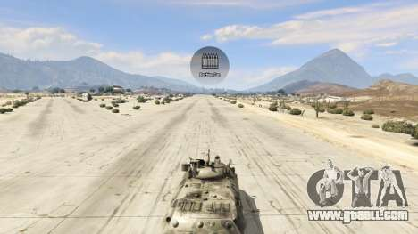 GTA 5 BTR-90 Rostok right side view