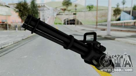 GTA 5 Minigun for GTA San Andreas second screenshot