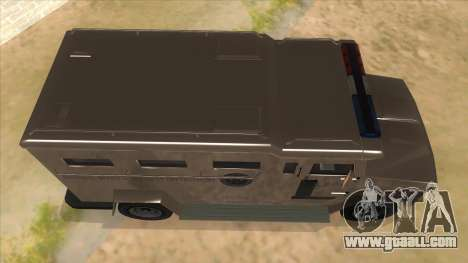 GTA 5 Brute Riot Police for GTA San Andreas inner view