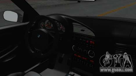 BMW M3 E36 Widebody for GTA San Andreas right view