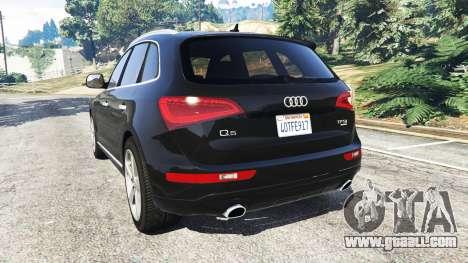 GTA 5 Audi Q5 2015 rear left side view